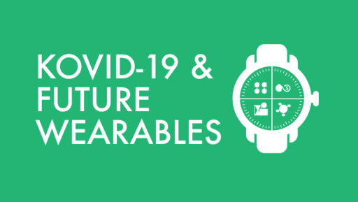 How can future smart wearables help prevent  infections like coronavirus?